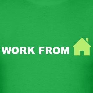 Work From Home (Symbol) T-Shirts - Men's T-Shirt