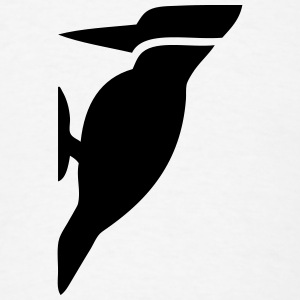 Woodpecker Bird Silhouette T-Shirts - Men's T-Shirt