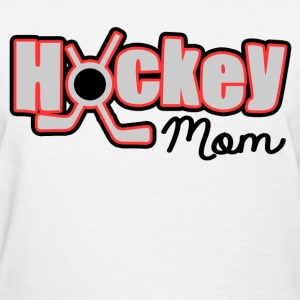 HOCKEY MOM - Women's T-Shirt