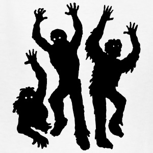 Scary Silhouette Zombies Kids' Shirts - Kids' T-Shirt