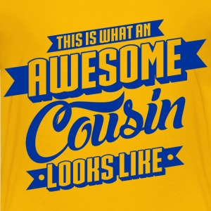 Awesome Cousin Looks Like Baby & Toddler Shirts - Toddler Premium T-Shirt