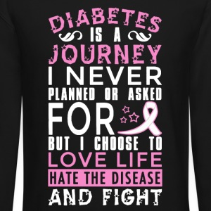 Diabetes Is A Journey - Crewneck Sweatshirt