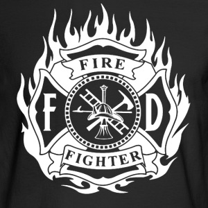 Fire Fighter Shirt - Men's Long Sleeve T-Shirt