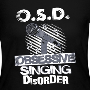 Obsessive Singing Disorder - Women's Long Sleeve Jersey T-Shirt