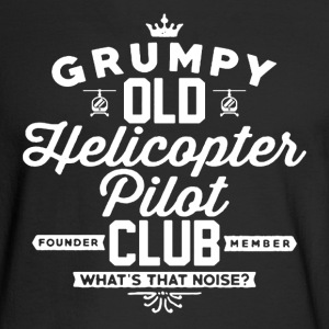 Helicopter Pilot Club - Men's Long Sleeve T-Shirt