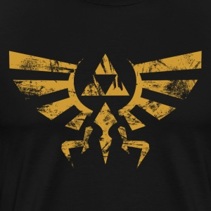 Triforce Grunge - Men's Premium T-Shirt