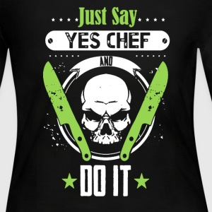 Chef Shirt - Women's Long Sleeve Jersey T-Shirt