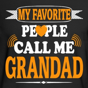 Favorite Grandad Shirt - Men's Long Sleeve T-Shirt
