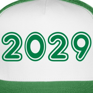 2029, Numbers, Year, Year Of Birth Sportswear - Trucker Cap