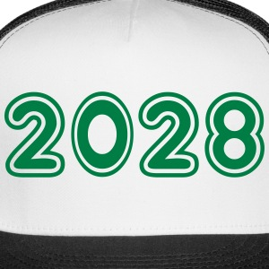 2028, Numbers, Year, Year Of Birth Sportswear - Trucker Cap