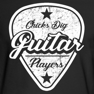 guitar players.png Long Sleeve Shirts - Men's Long Sleeve T-Shirt