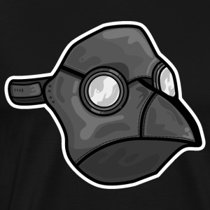 Plague Bird Mask Mans T-shirt ( All Colors ) - Men's Premium T-Shirt
