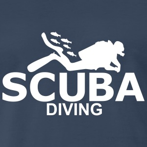 scuba diving T-Shirts - Men's Premium T-Shirt