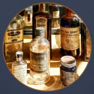 Medicine Bottles in Glass Case Sportswear - Men's Premium Tank