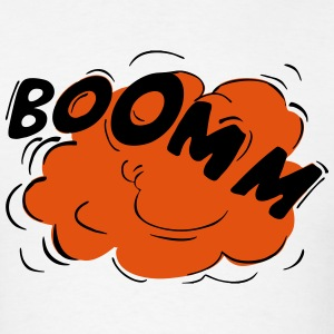 BOOMM! Cartoon Explosion T-Shirts - Men's T-Shirt