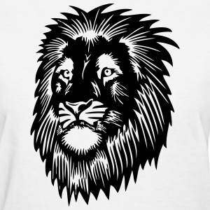 Lion Head T-Shirts - Women's T-Shirt