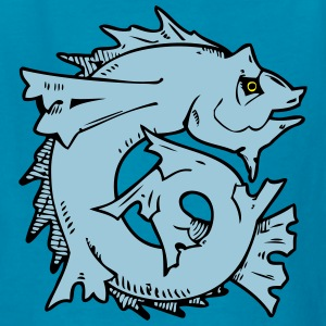 Japanese Fish Art Kids' Shirts - Kids' T-Shirt