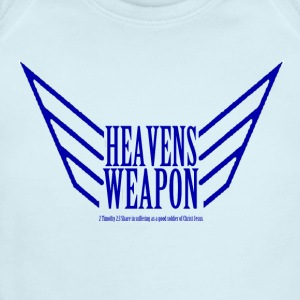My Baby is Heavens Weapon!  - Short Sleeve Baby Bodysuit