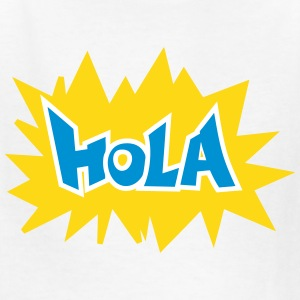 HOLA (comic art bubble) Kids' Shirts - Kids' T-Shirt