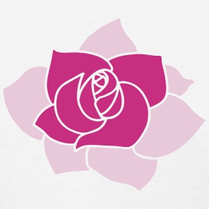 Rose Flower Icon T-Shirts - Women's T-Shirt