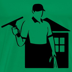 window cleaner T-Shirts - Men's Premium T-Shirt