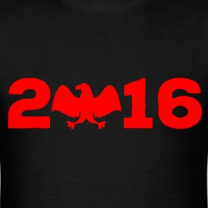 2016 bald eagle red T-Shirts - Men's T-Shirt