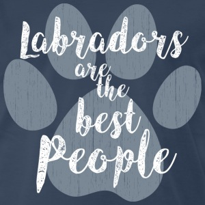 Labradors the Best People T-Shirts - Men's Premium T-Shirt