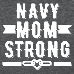 Navy Mom Strong T-shirt - Women's T-Shirt