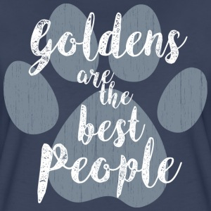 Goldens, the Best People T-Shirts - Women's Premium T-Shirt