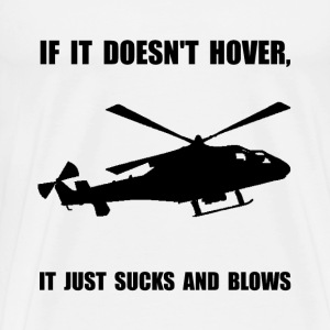 Helicopter Hover - Men's Premium T-Shirt