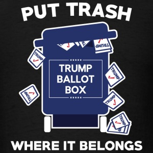Trump Ballot Box - Men's T-Shirt