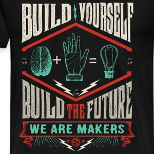Men's Build the Future t-shirt - Men's Premium T-Shirt