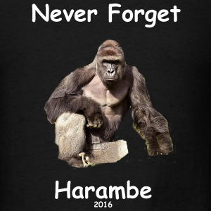 Harambe Commemorative Shirt - Men's T-Shirt