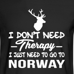 Norway Therapy Shirt - Men's Long Sleeve T-Shirt