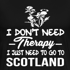 Scotland Therapy Shirt - Men's Premium T-Shirt