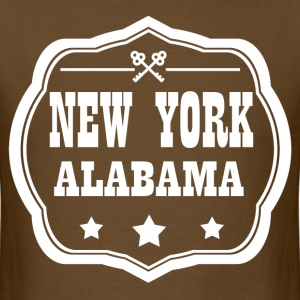 NEW YORK ALABAMA - Men's T-Shirt