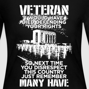 Veteran Pride Shirt - Women's Long Sleeve Jersey T-Shirt