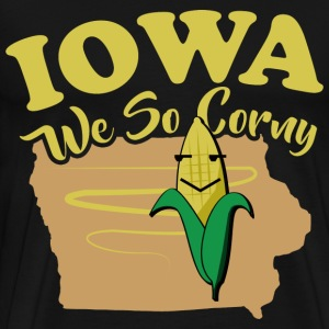 Iowa We So Corny T-Shirts - Men's Premium T-Shirt