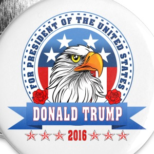 Donald Trump for presiden Buttons - Large Buttons