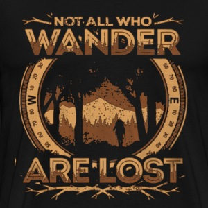 Wander Lost Shirt - Men's Premium T-Shirt