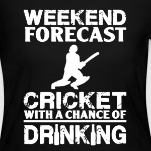 Weekend Forecast Cricket - Women's Long Sleeve Jersey T-Shirt