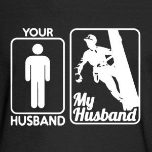 Lineman Husband Shirt - Men's Long Sleeve T-Shirt