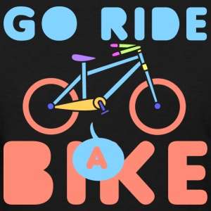 Go Ride a Bike T-Shirts - Women's T-Shirt