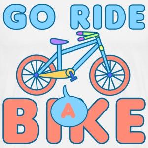 Go Ride a Bike T-Shirts - Men's Premium T-Shirt