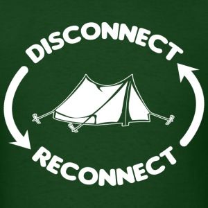 Camping Internet T-Shirts - Men's T-Shirt