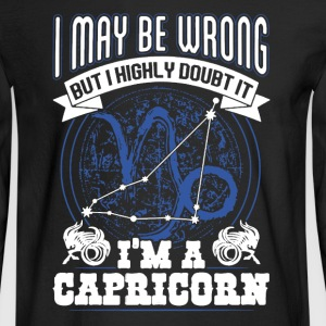 Proud Capricorn Shirt - Men's Long Sleeve T-Shirt