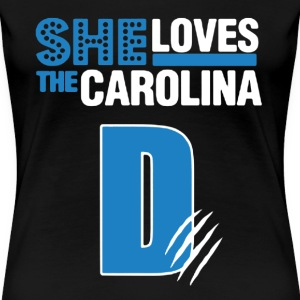 She Love The Carolina - Women's Premium T-Shirt