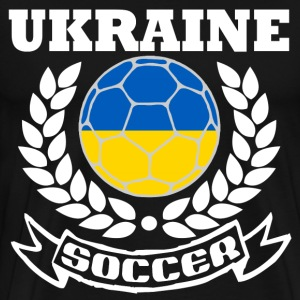 UKRAINE SOCCER TEAM - Men's Premium T-Shirt