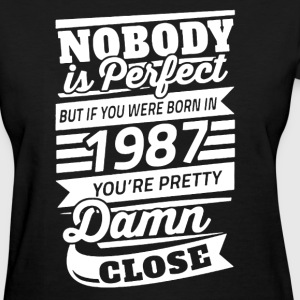 Born In 1987 Shirt - Women's T-Shirt