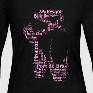 Ballet Shoes Shirt - Women's Long Sleeve Jersey T-Shirt
